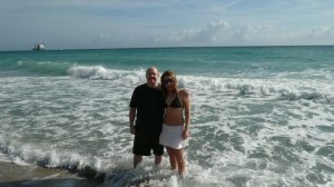 me and dad in atlantic