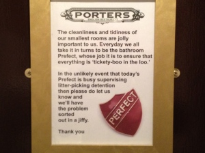 porters sign