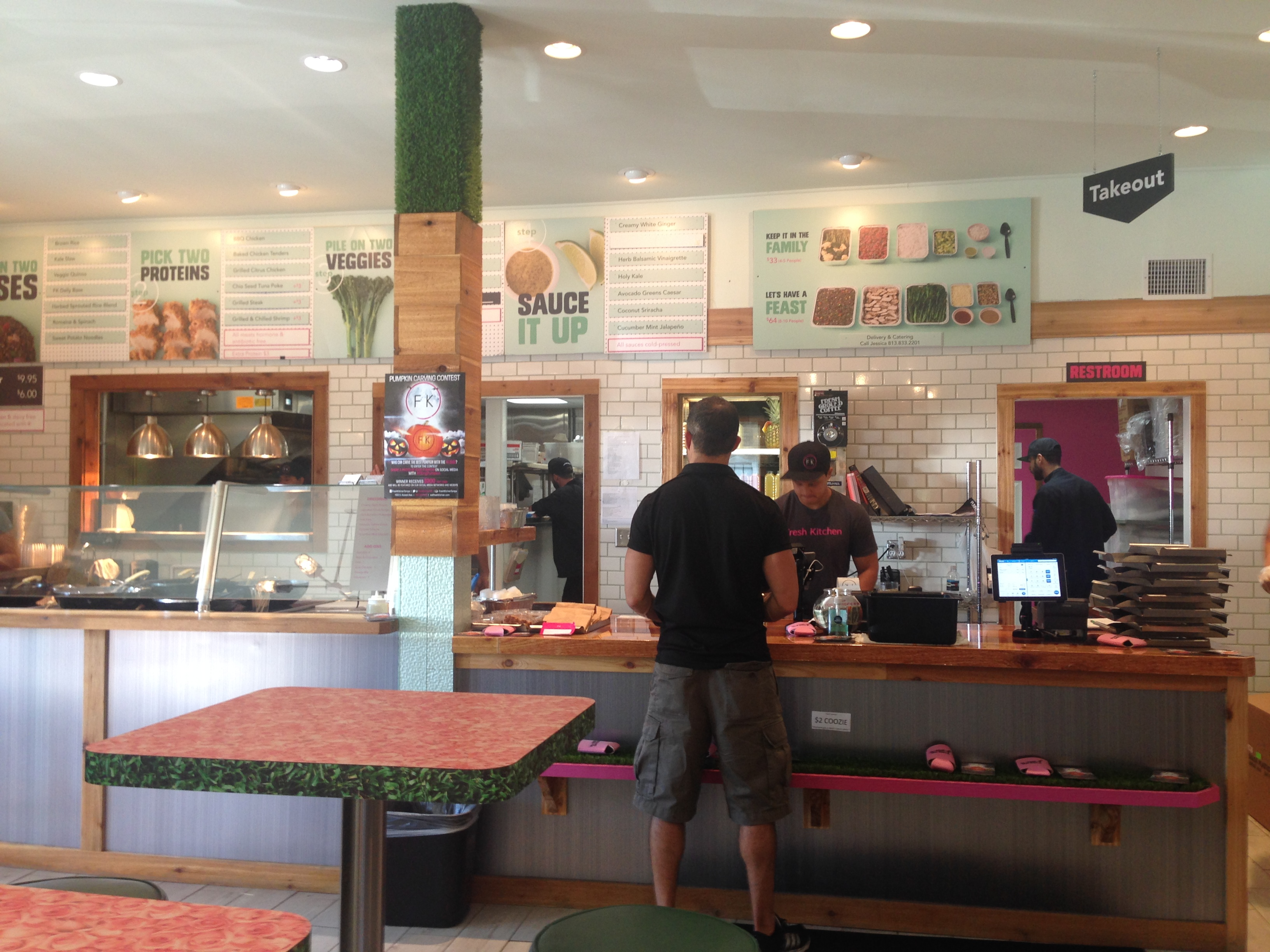 tampa restaurant review fresh kitchen saves lives will travel