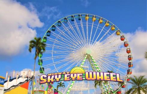midway sky eye web